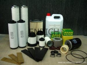 Overhaul Kits Spare Parts for Vacuum Pumps