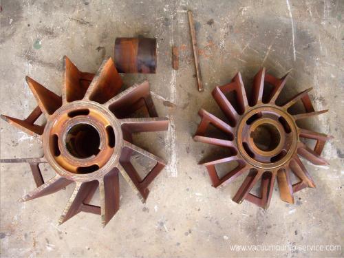 Repairing Liquid Ring Vacuum Pumps/Water-ring Vacuum Pump