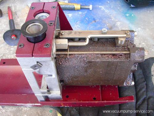 Repairing Two-stage Rotary Vane Vacuum Pumps